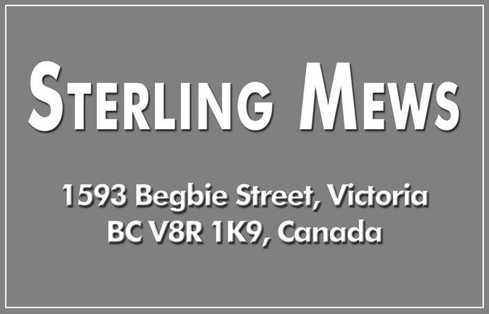 Sterling Mews 1593 Begbie V8R 1K9
