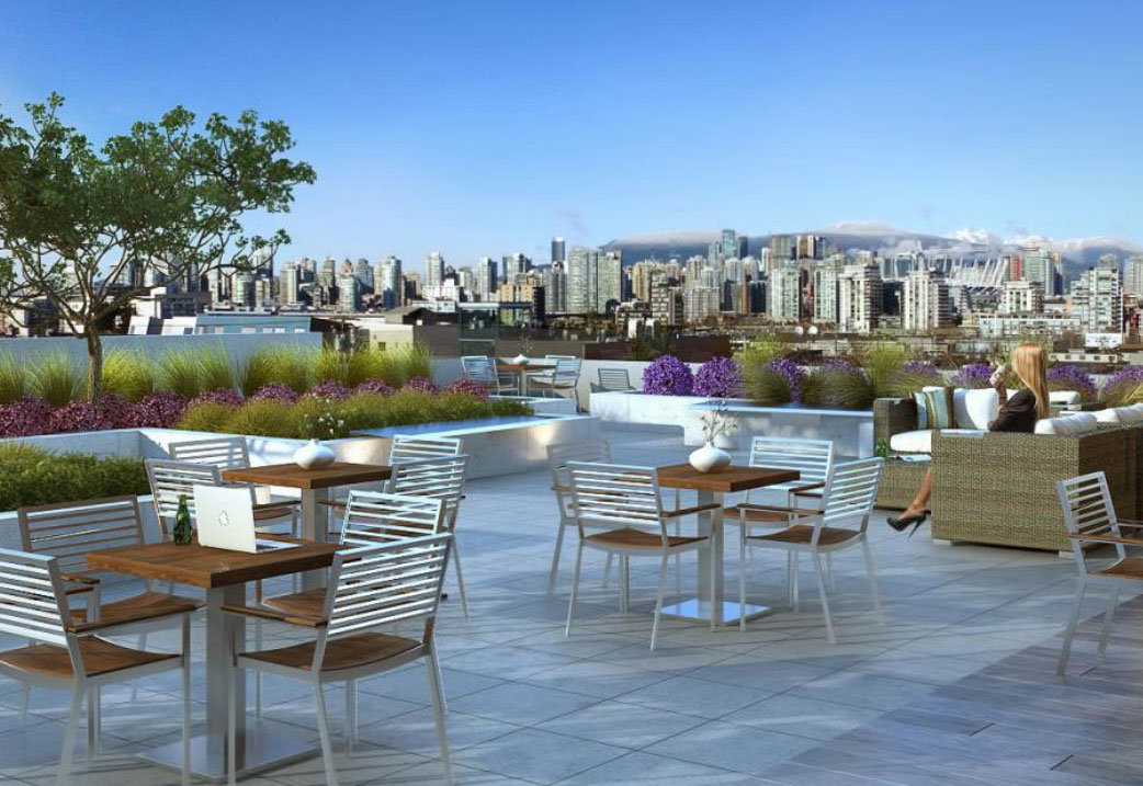 Rendering of a 34 West 7th Avenue Deck!