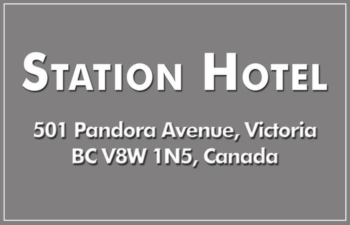 Station Hotel 501 Pandora V8W 3J6