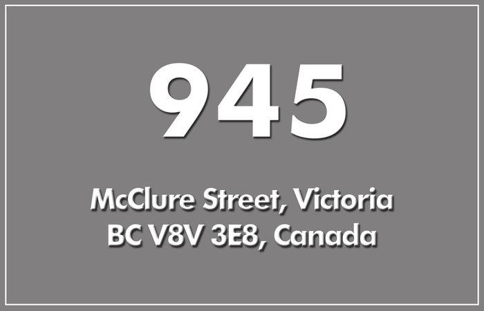 945 Mcclure 945 McClure V8V 3E8