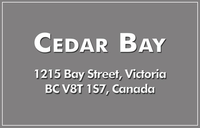 Cedar Bay 1215 Bay V8T 1S7