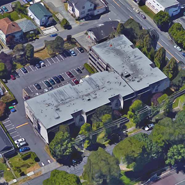 909 Pembroke Street, Victoria, BC - Birds eye view!