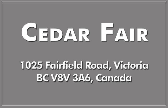 Cedar Fair 1025 Fairfield V8V 3A6