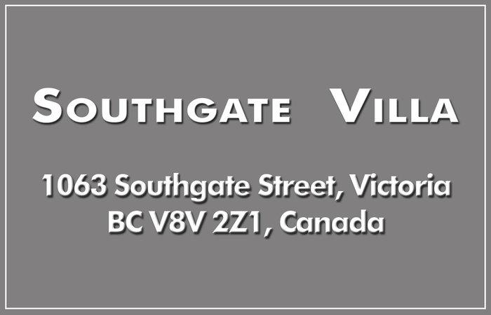 Southgate Villa 1063 Southgate V8V 2Z1