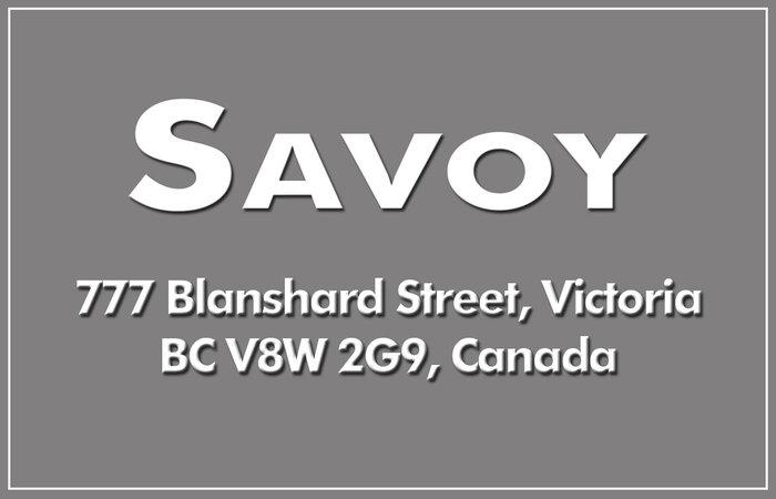 Savoy 777 Blanshard V8W 2G9