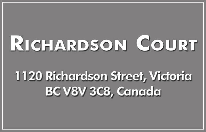 Richardson Court 1120 Richardson V8V 3C8