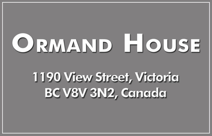 Ormand House 1190 View V8V 3M1