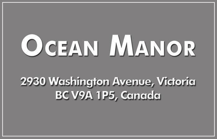 Ocean Manor 2930 Washington V9A 1P5