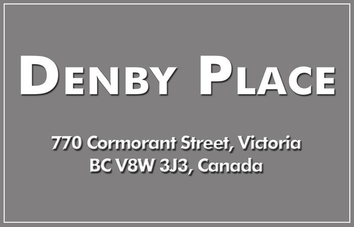 Denby Place 770 Cormorant V8W 3J3