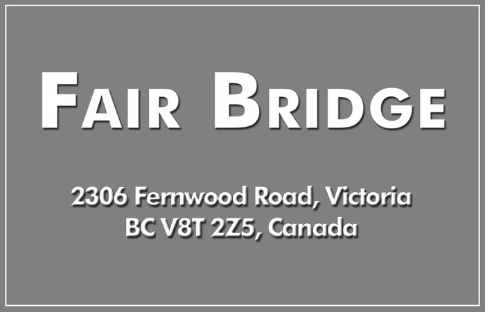 Fair Bridge 2306 Fernwood V8T 2Z5