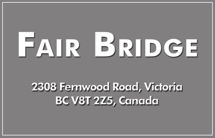 Fair Bridge 2308 Fernwood V8T 2Z5