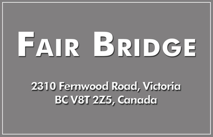 Fair Bridge 2310 Fernwood V8T 2Z5