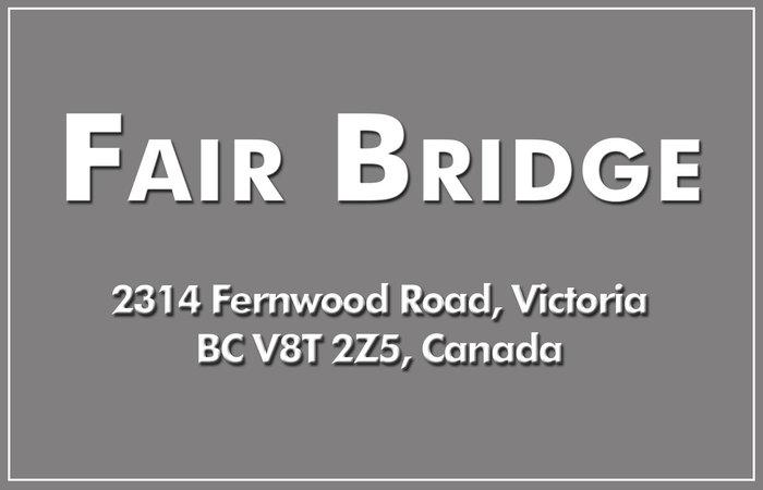 Fair Bridge 2314 Fernwood V8T 2Z5