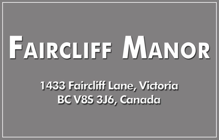 Faircliff Manor 1433 Faircliff V8S 3J6