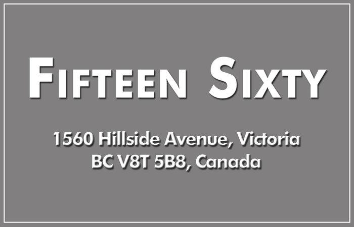 Fifteen Sixty 1560 Hillside V8T 5B8