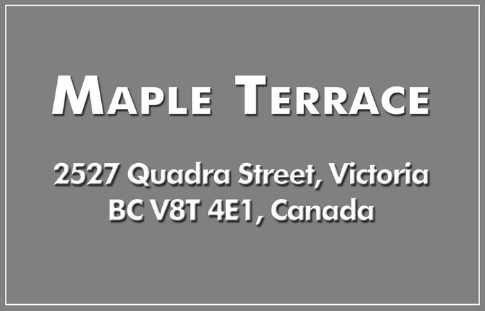 Maple Terrace 2527 Quadra V8T 4E1