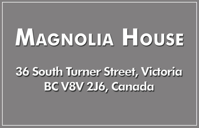 Magnolia House 36 South Turner V8V 2J6
