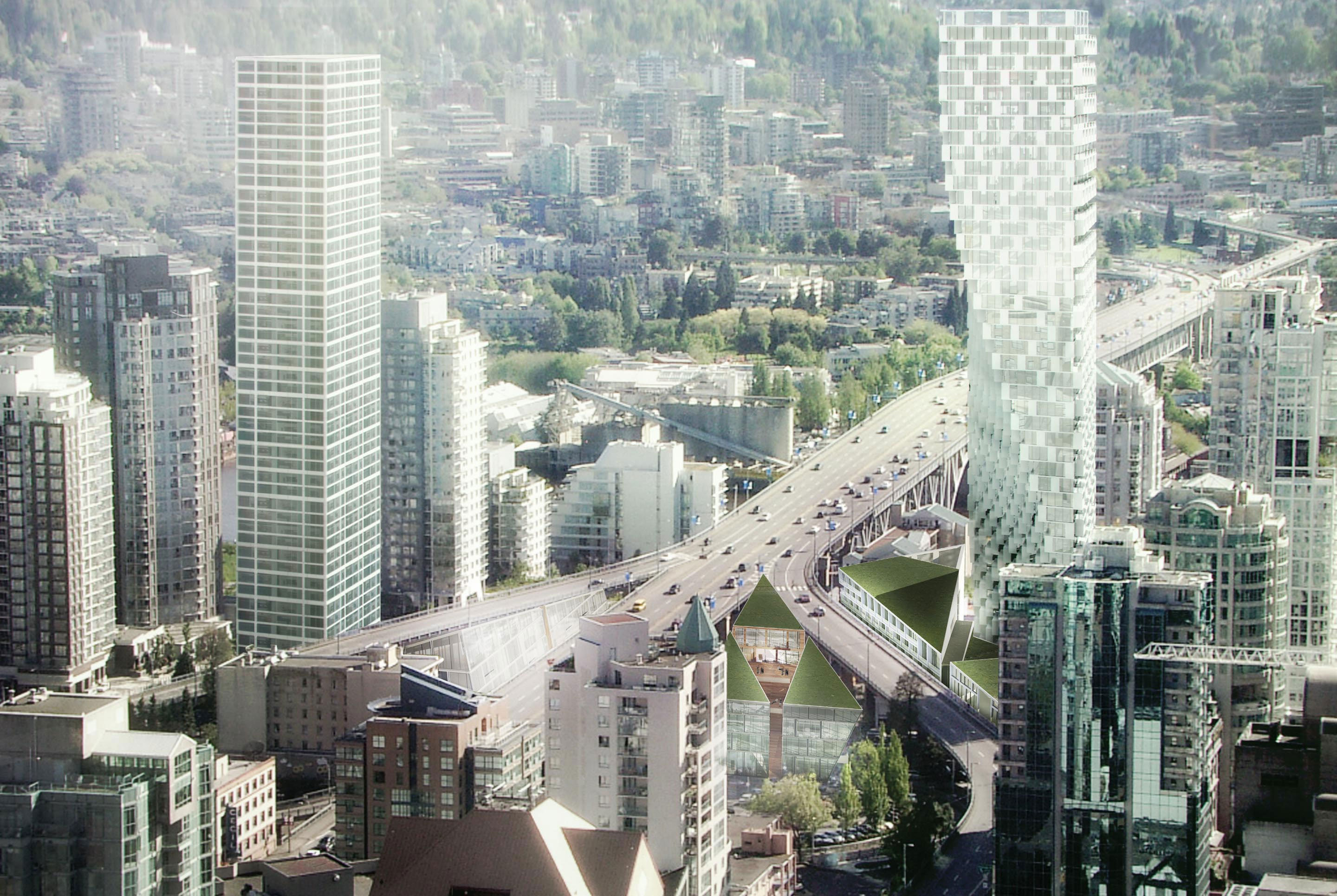Granville Bridge and Rendering of Vancouver House!