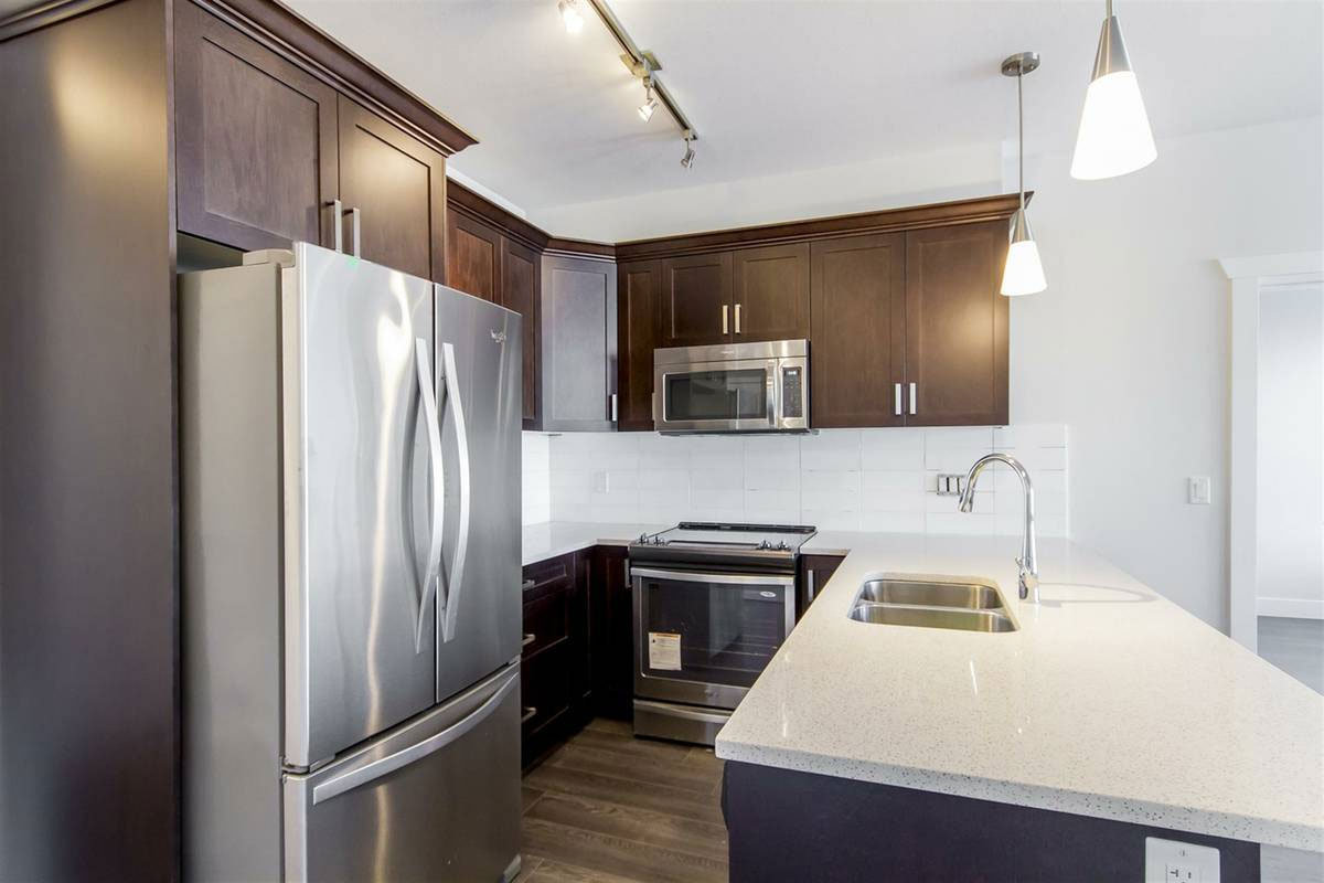 Typical Kitchen With Stainless Steel Appliances!