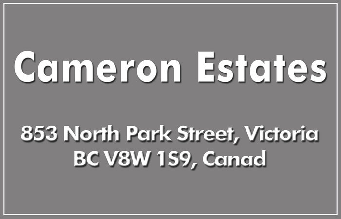 Cameron Estates 853 North Park V8W 1S9