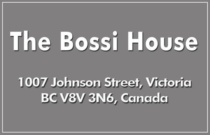 The Bossi House 1007 Johnson V8V 3N6