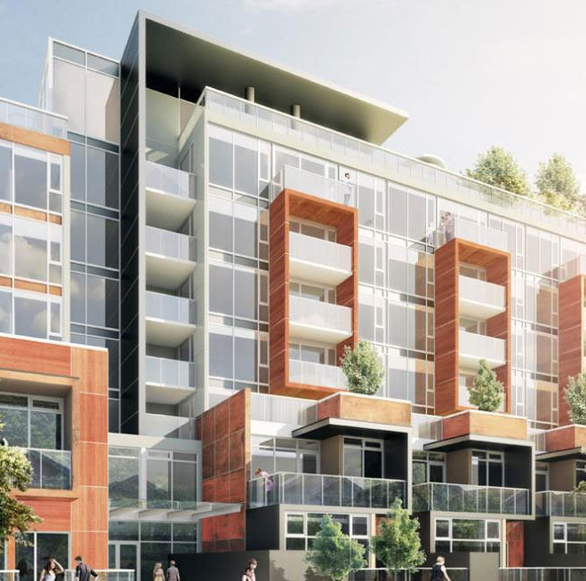 Granville at 70th Podium and Townhouses!