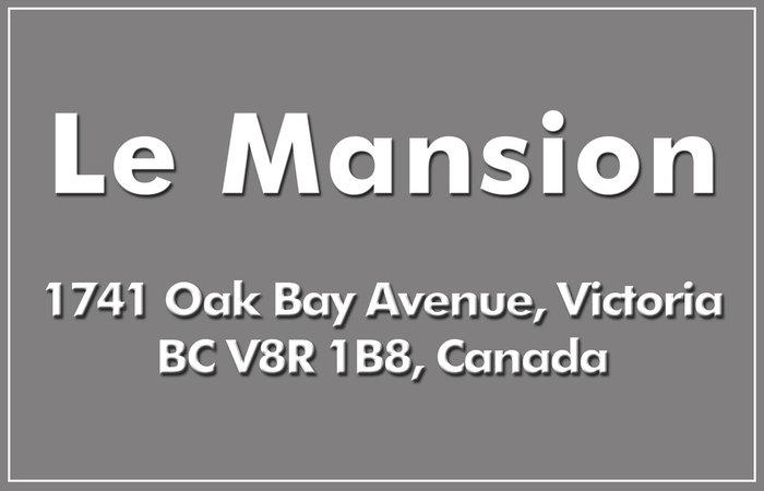 Le Mansion 1741 Oak Bay V8R 1B8