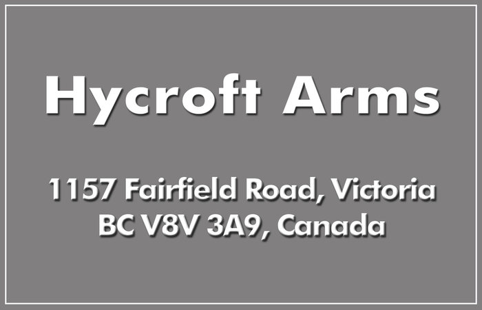 Hycroft Arms 1157 Fairfield V8V 3A9