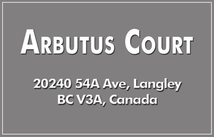 Arbutus Court 20240 54A V3A 3W7
