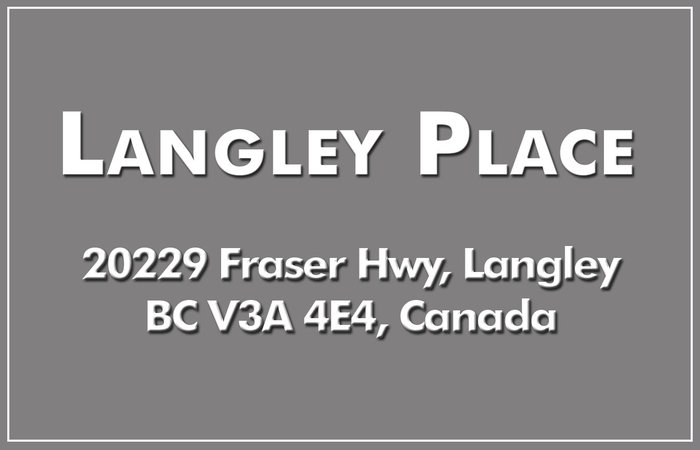 Langley Place 20229 FRASER V3A 4E7