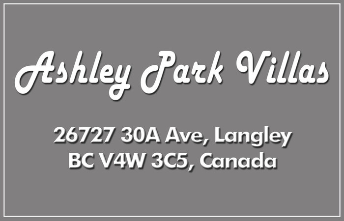 Ashley Park Villas 26727 30A V4W 3S5