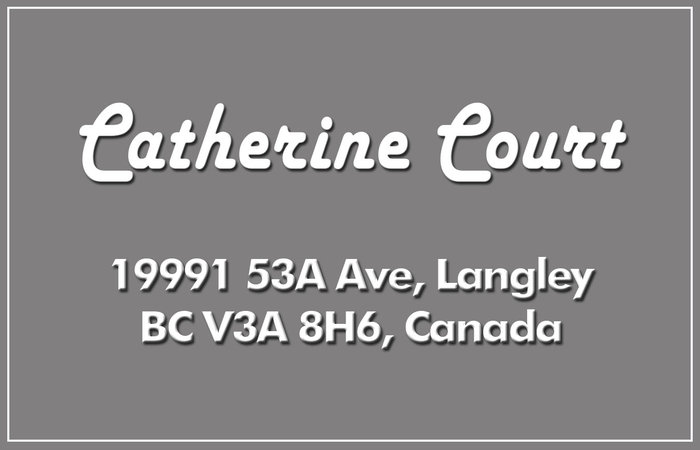 Catherine Court 19991 53A V3A 8H6