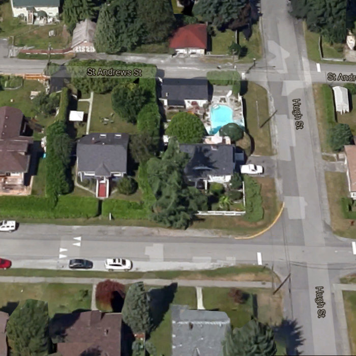 2830 St George St, Port Moody, BC V3H 2H3, Canada Birds Eye View!