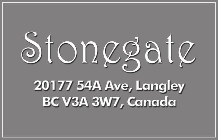 Stonegate 20177 54A V3A 3W6