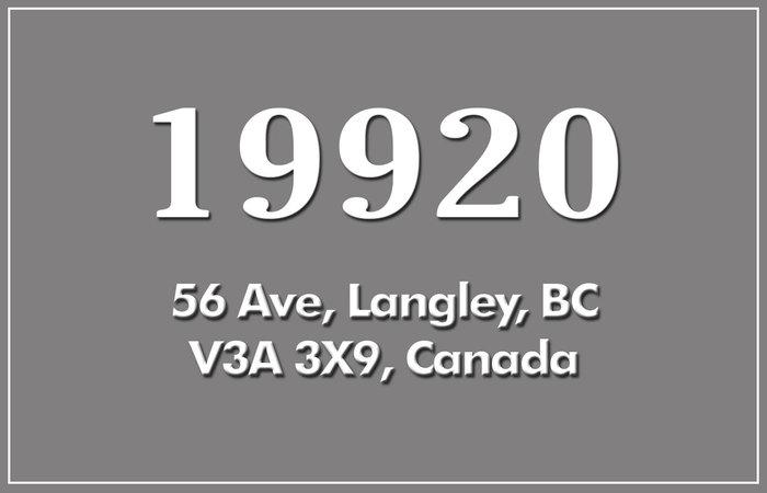 19920 56th 19920 56TH V3A 3X9