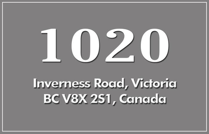 1020 Inverness 1020 Inverness V8X 2S1