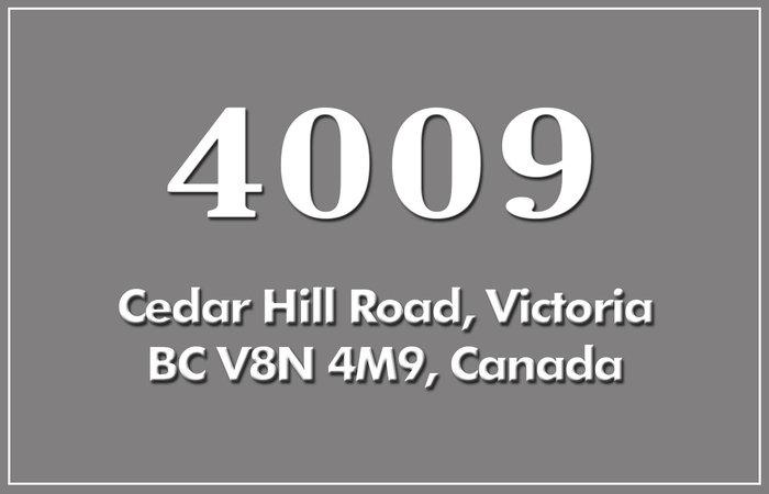 Gardiner's Green 4009 Cedar Hill V8N 4M9
