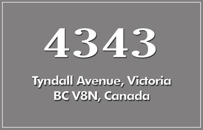 4343 Tyndall 4343 Tyndall V8N 3R9