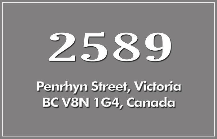 2589 Penrhyn St 2589 Penrhyn V8N 1G4