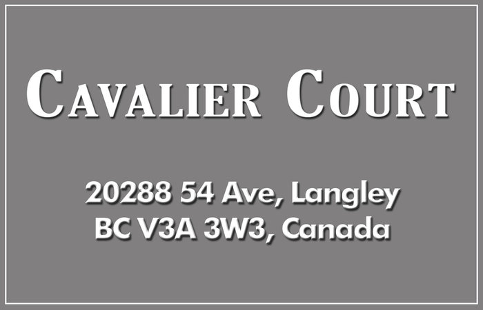 Cavalier Court 20288 54TH V3A 3W3