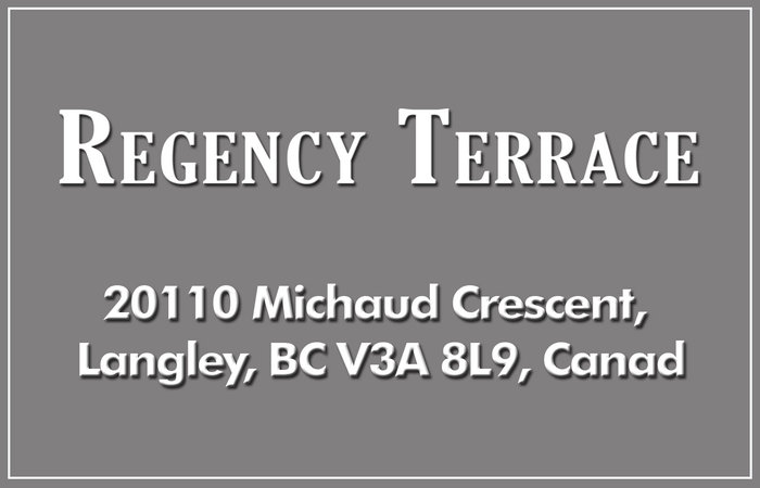 Regency Terrace 20110 MICHAUD V3A 4B1