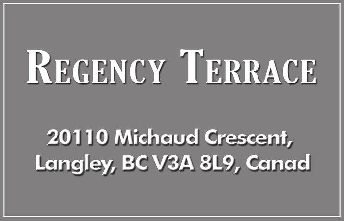Regency Terrace 20110 MICHAUD V3A 4B1