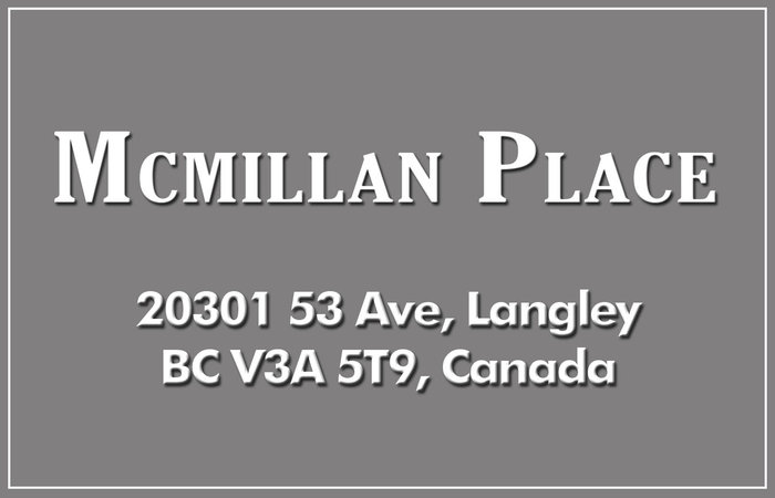 Mcmillan Place 20301 53RD V3A 6S8