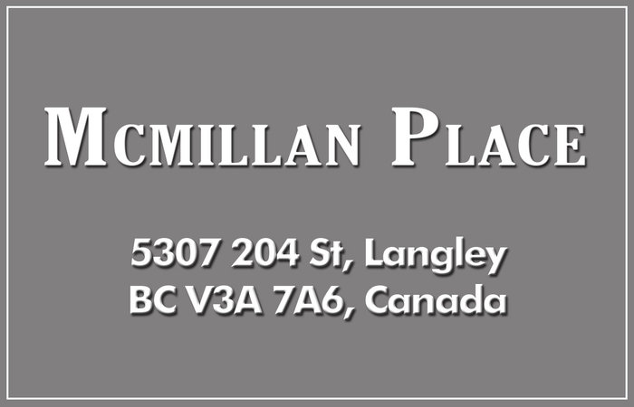 Mcmillan Place 5307 204TH V3A 6S7