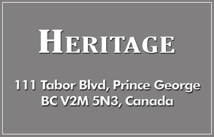 Heritage 111 TABOR V2M 5N3