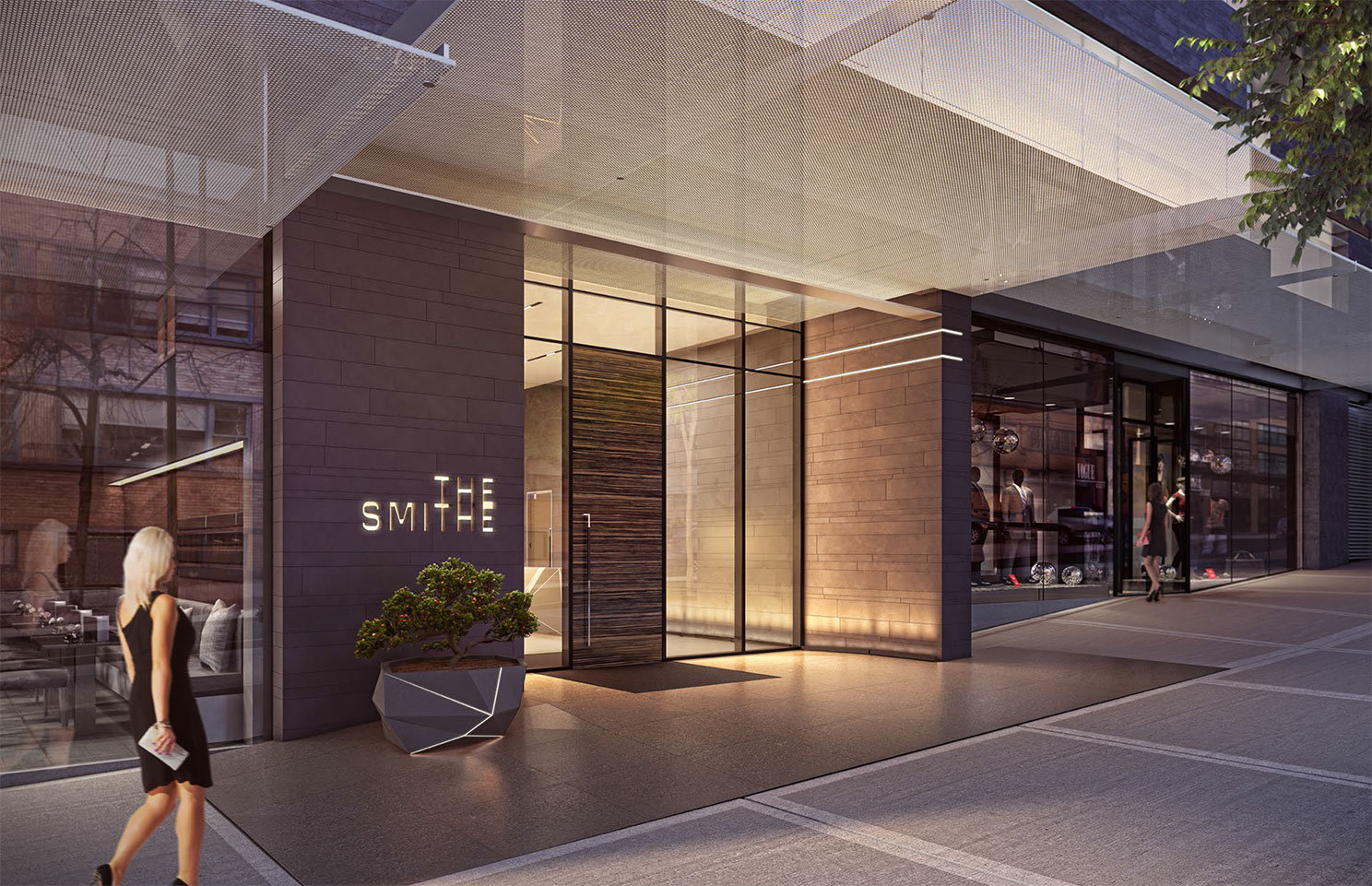 885 Cambie Entrance Rendering!