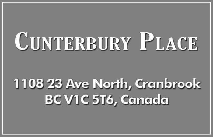 Canterbury Place 1108 23RD V1C 5T6