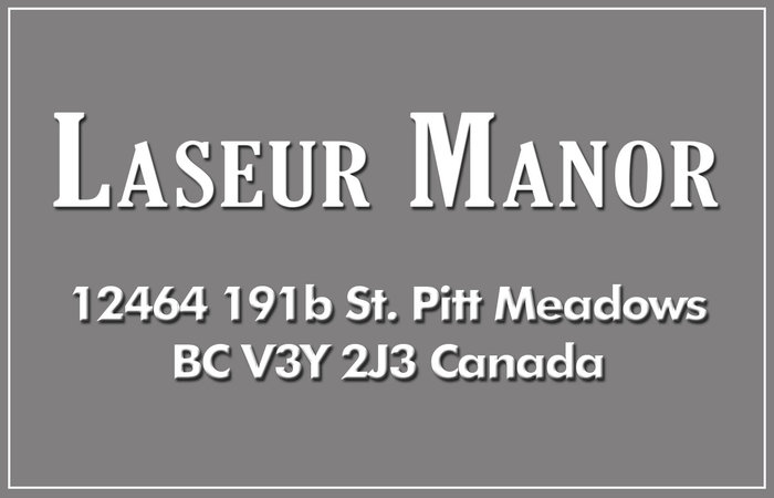 Laseur Manor 12464 191B V3Y 2J3