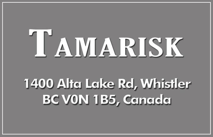 Tamarisk 1400 ALTA LAKE V0N 1B5