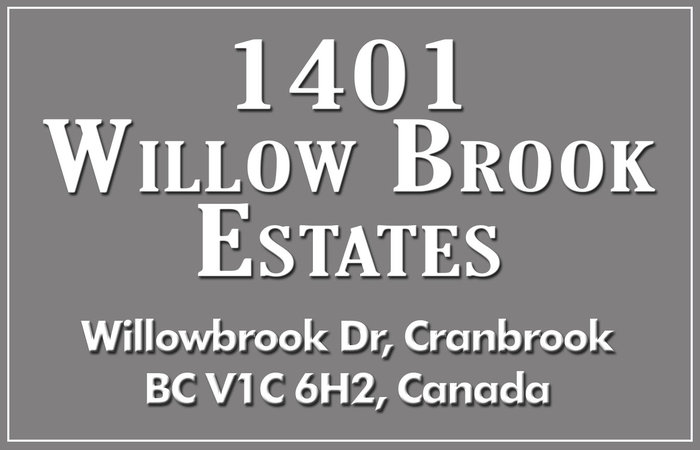 1401 Willowbrook Estates 1401 WILLOWBROOK V1C 6H2